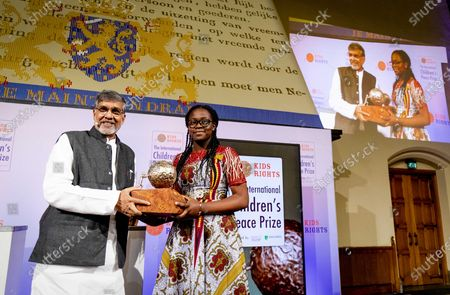 Editorial picture of International Children's Peace Prize Award in The Hague, Den Haag, Netherlands - 20 Nov 2019