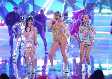 Camila Cabello, Taylor Swift and Halsey