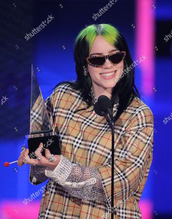Redaktionelt billede af 47th Annual American Music Awards, Show, Microsoft Theater, Los Angeles, USA - 24 Nov 2019
