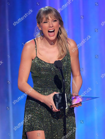 Editorial picture of 47th Annual American Music Awards, Show, Microsoft Theater, Los Angeles, USA - 24 Nov 2019
