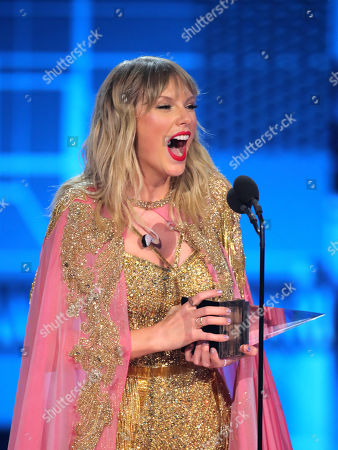 Editorial photo of 47th Annual American Music Awards, Show, Microsoft Theater, Los Angeles, USA - 24 Nov 2019