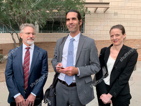 Editorial picture of Border Activist-Trial, Tuscon, USA - 20 Nov 2019