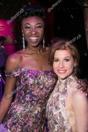 Miriam-Teak Lee (Juliet) and Cassidy Janson (Anne)
