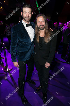 Stock Picture of Oliver Tompsett (Shakespeare) and Max Martin (Music)
