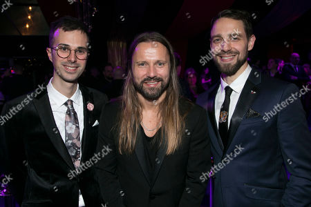 Luke Sheppard (Director), Max Martin (Music) and David West Read (Author)