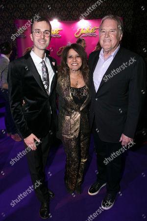 Stock Image of Luke Sheppard (Director), Theresa Steele (Producer) and Tim Headington (Producer)
