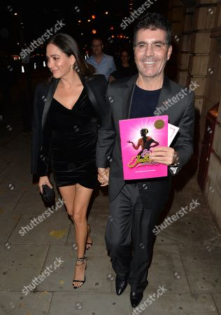 Stock Image of Lauren Silverman and Simon Cowell