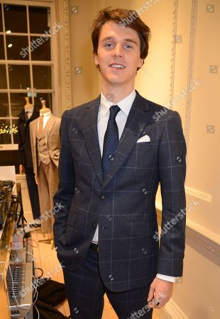 Editorial image of Hackett London opening, Savile Row, UK - 20 Nov 2019