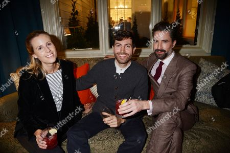 Jack Guinness and guests