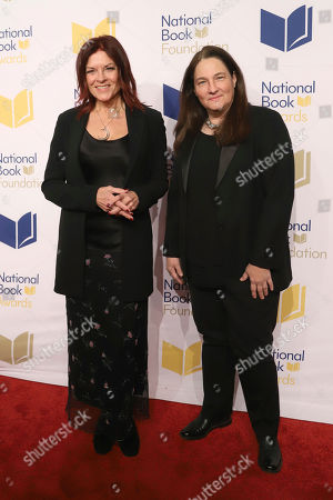 Rosanne Cash, A.M Homes. Rosanne Cash, left, and A.M Homes attend the 70th National Book Awards ceremony and benefit dinner at Cipriani Wall Street, in New York