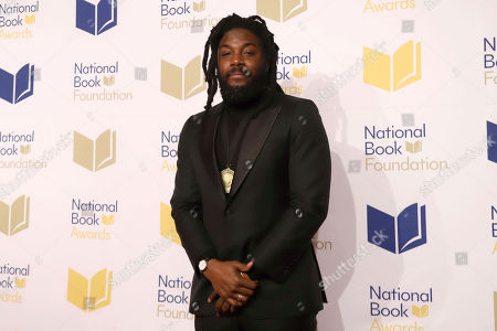 Stock Image of Jason Reynolds attends the 70th National Book Awards ceremony and benefit dinner at Cipriani Wall Street, in New York