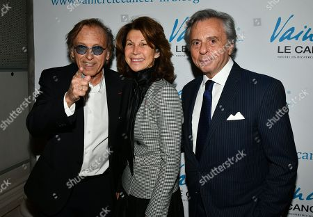 Stock Photo of Alexandre Arcady, Michel Oks and guest