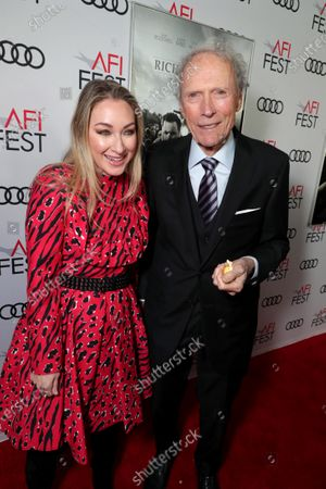 Blair Rich, President, Worldwide Marketing, Warner Bros. Pictures Group and Warner Bros. Home Entertainment, Clint Eastwood, Director/Producer,