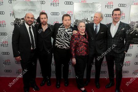 Ian Gomez, Sam Rockwell, Paul Walter Hauser, Kathy Bates, Clint Eastwood, Director/Producer, Jon Hamm