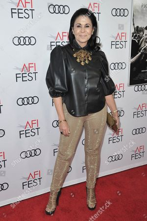 """Maria Conchita Alonso attends 2019 AFI Fest - """"Richard Jewell"""" at the TCL Chinese Theatre, in Los Angeles"""
