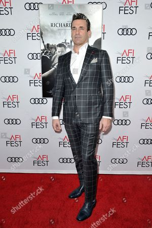 "Jon Hamm attends 2019 AFI Fest - ""Richard Jewell"" at the TCL Chinese Theatre, in Los Angeles"