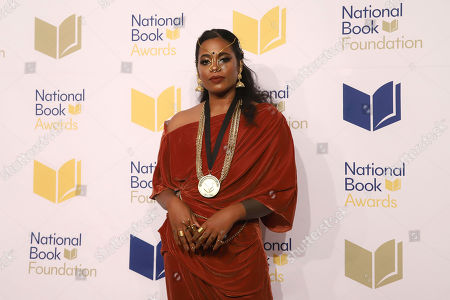 Stock Photo of Akwaeke Emezi attends the 70th National Book Awards ceremony and benefit dinner at Cipriani Wall Street, in New York