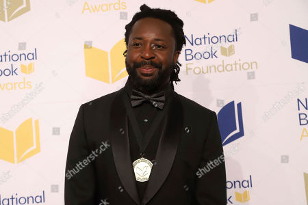 Marlon James attends the 70th National Book Awards ceremony and benefit dinner at Cipriani Wall Street, in New York