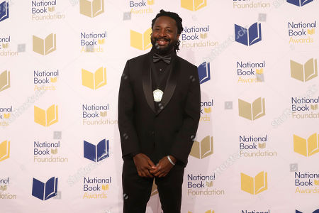 Stock Image of Marlon James attends the 70th National Book Awards ceremony and benefit dinner at Cipriani Wall Street, in New York