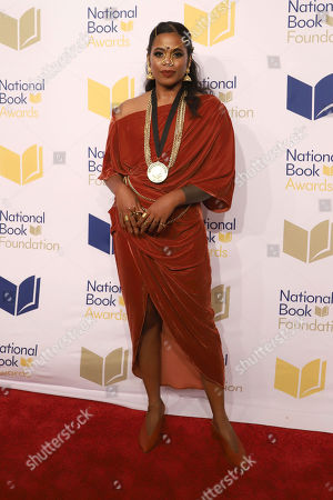 Stock Picture of Akwaeke Emezi attends the 70th National Book Awards ceremony and benefit dinner at Cipriani Wall Street, in New York