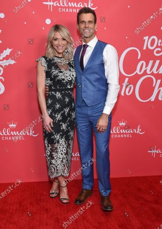 Stock Image of Debbie Matenopoulos and Cameron Mathison
