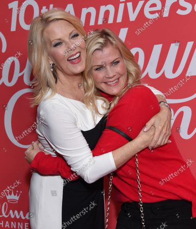 Stock Picture of Barbara Niven and Alison Sweeney