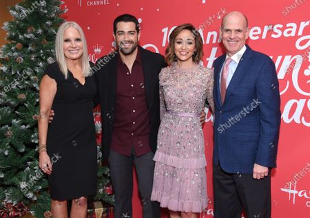Michelle Vicay, Jesse Metcalfe, Autumn Reeser and William Abbott