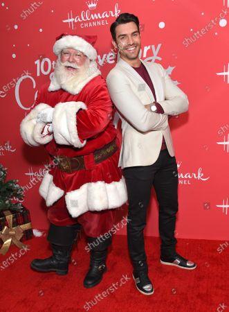 Peter Porte and Santa Claus