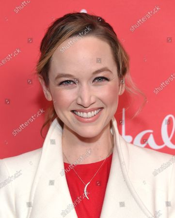 Editorial image of 'Christmas Under the Stars' film screening, Los Angeles, USA - 20 Nov 2019