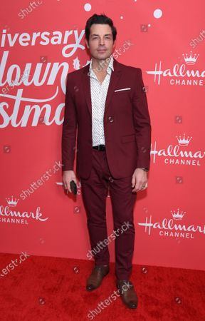 Editorial picture of 'Christmas Under the Stars' film screening, Los Angeles, USA - 20 Nov 2019