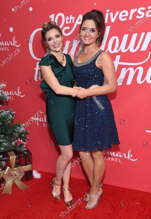 Jen Lilley and Danica McKellar