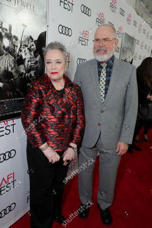 Stock Photo of Kathy Bates, Michael Lumpkin, AFI Fest Director,