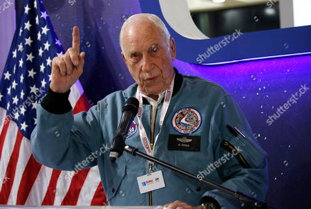 Astronaught Al Worden american appolo mission
