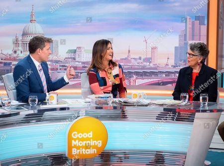 Editorial photo of 'Good Morning Britain' TV show, London, UK - 21 Nov 2019