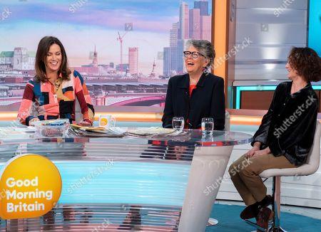Editorial image of 'Good Morning Britain' TV show, London, UK - 21 Nov 2019
