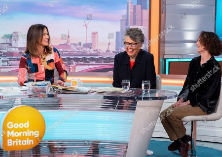 Editorial picture of 'Good Morning Britain' TV show, London, UK - 21 Nov 2019