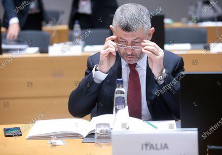 Editorial image of EU Foreign Affairs Council (Trade) meeting, Brussels, Belgium - 21 Nov 2019