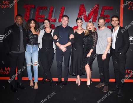Caleb Castille, Ashley Madekwe, Carrie-Anne Moss, Kevin Williamson, Odette Annable, Natalie Alyn Lind, Matt Lauria and Paul Wesley