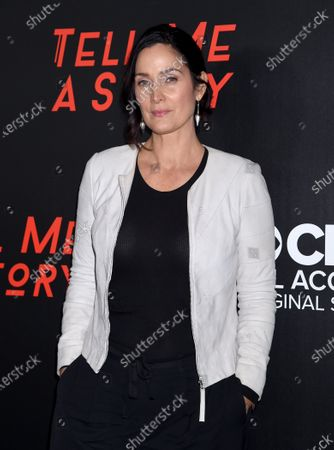 Stock Photo of Carrie-Anne Moss
