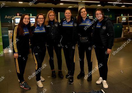 Pictured (L-R) Amy O'Connor, Aoife Murray, Laura Treacy, Gemma O'Connor, Cait Devane and Katrina Mackey (all Cork)