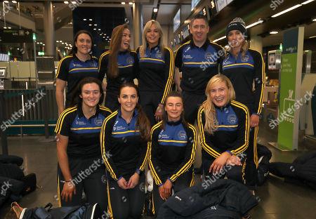 Editorial image of Liberty Insurance Camogie All-Stars Depart Dublin For New York, Dublin Airport  - 21 Nov 2019