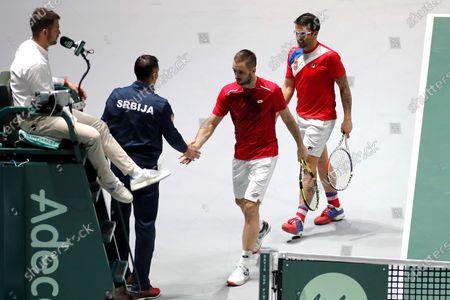 Editorial image of Davis Cup Madrid Finals, Spain - 21 Nov 2019