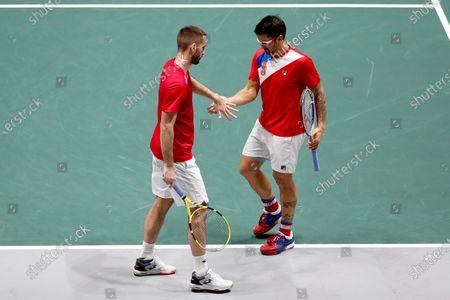 Editorial photo of Davis Cup Madrid Finals, Spain - 21 Nov 2019