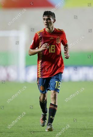 Spain's Pedri Gonzalez