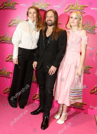 Max Martin with wife Jenny and daughter Dori