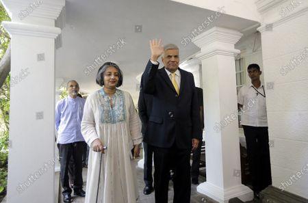 Editorial photo of Mahinda Rajapaksa sworn-in as Sri Lanka Prime Minister, Colombo - 21 Nov 2019