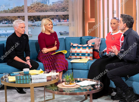 Editorial picture of 'This Morning' TV show, London, UK - 21 Nov 2019