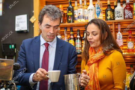 Editorial image of Liberal Democrat General Election campaigning, London, UK - 21 Nov 2019