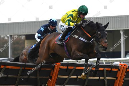 Correction: VWinner of the The Smith and Williamson Bloodstock Tax & Advisory Services Handicap Hurdle Midnight Midge ridden by Bryan Carver and trained by Chris Down  during Horse Racing at Wincanton Racecourse on 21st November 2019