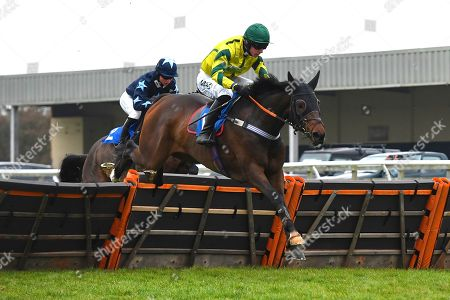 Correction: Winner of the The Smith and Williamson Bloodstock Tax & Advisory Services Handicap Hurdle Midnight Midge ridden by Bryan Carver and trained by Chris Down during Horse Racing at Wincanton Racecourse on 21st November 2019